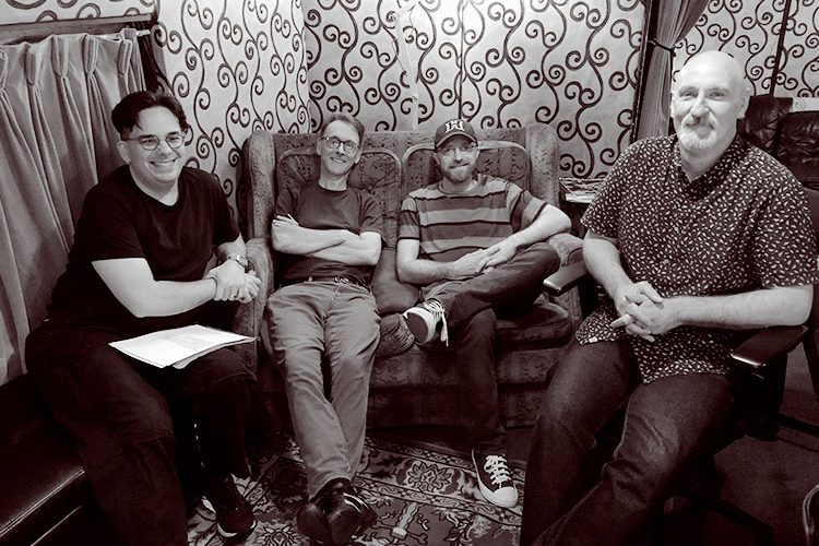 balmain engineers - Phil, Pete, Russ, & Andrew
