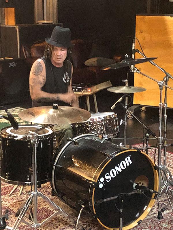 Mark Cashin Drums