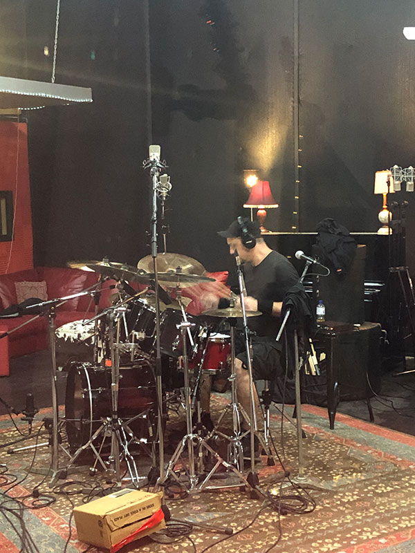 Rob on the Kit