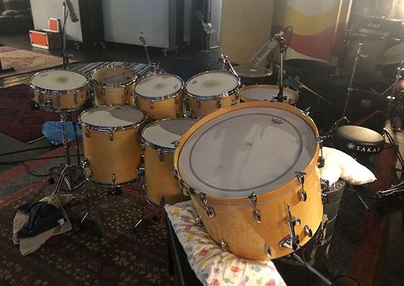 RE20s Mic Drums