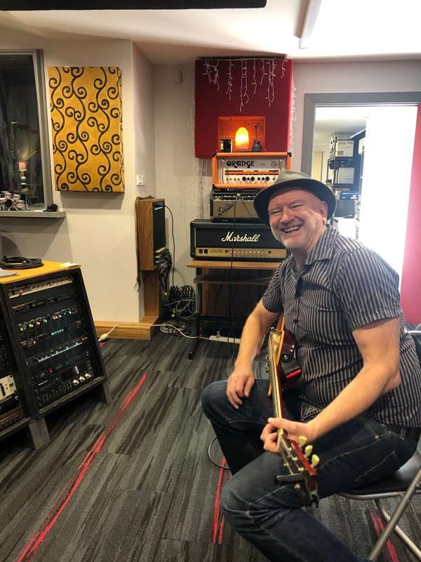 Alex Craig on guitar