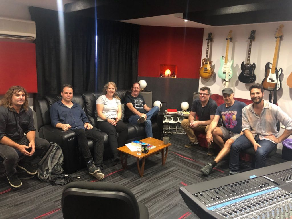 Cassady Southern and team with Marshall at Damien Gerard Studios