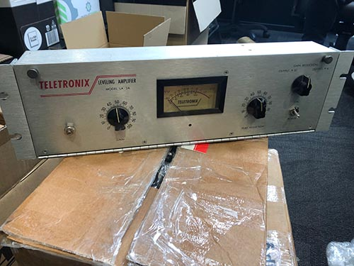 Teletronix Urei LA2A unboxed