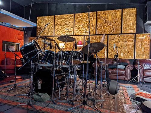 Tim Burcham Drum Kit