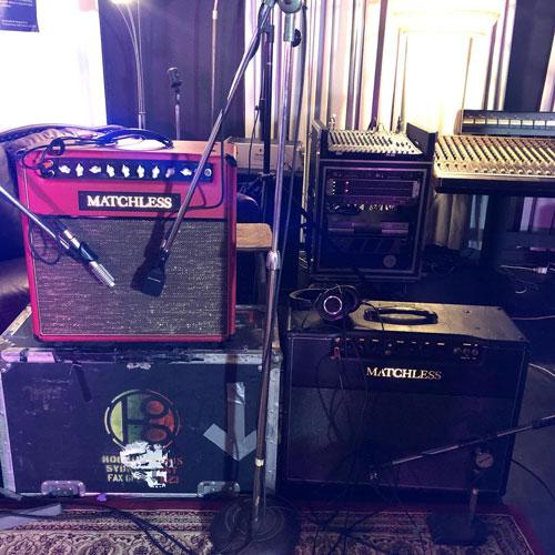 Hoodoo Gurus - Brad's Bassman rig