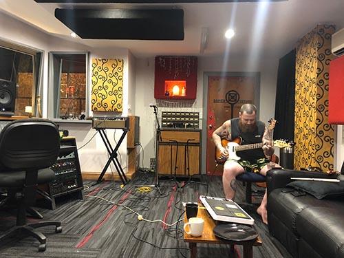 Jake lead on Casho at Damien Gerard Studios