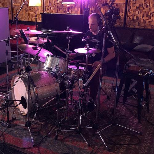 Hoodoo Gurus - Nick at Damien Gerard Studios
